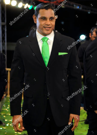 Sammy Sosa Former Major League Baseball player Sammy Sosa arrives to a tribute ceremony for foreign film actors during the 6th Dominican Film Festival in Santo Domingo, Dominican Republic