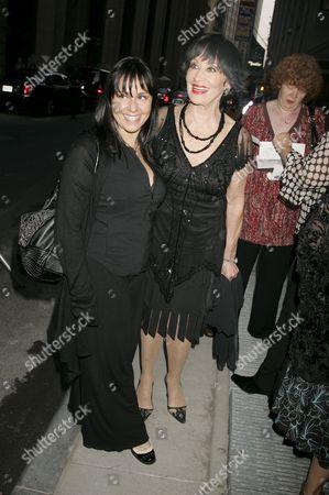 Chita Rivera (right) and daughter Lisa Mordente