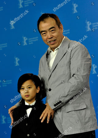 Chen Kaige, William Wang Director Chen Kaige and actor William Wang, left, pose during a photo-call about the movie Zhao Shi Gu Er / Sacrifice at the International Film Festival Berlinale in Berlin on