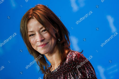Jenny Schily German actress Jenny Schily poses at a photo-call about the movie Sleeping Sickness during the International Film Festival Berlinale in Berlin on