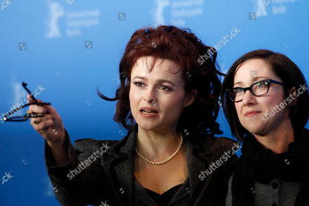Stock Photo of Helena Bonham Carter, SJ Clarkson British actress Helena Bonham Carter, left, and director SJ Clarkson attend a photo-call for the movie Toast at the International Film Festival Berlinale in Berlin on