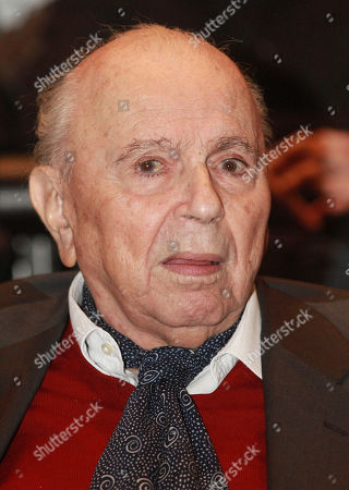 """Michael Cacoyannis Cyprus-born filmmaker Michael Cacoyannis is seen during an event in Athens. Cacoyannis who directed the 1964 movie """"Zorba the Greek,"""" starring Anthony Quinn, has died at an Athens hospital on . He was 89"""