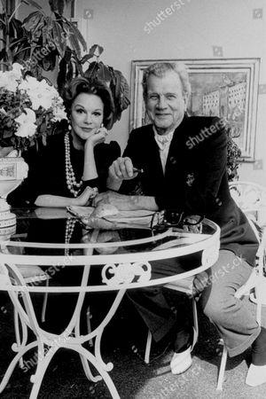 JOSEPH COTTEN AND WIFE PATRICIA