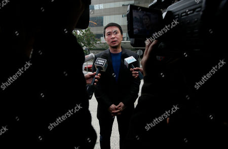 "Ronald Singson Philippine Rep. Ronald Singson, the son of Luis ""Chavit"" Singson, a provincial governor in the Philippines, speaks to the media outside the Hong Kong's District Court, . A final testimony started Thursday against Singson who was allegedly caught with cocaine at the Hong Kong airport in last July"