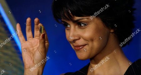 Gul Panag Bollywood actress Gul Panag holds Advanced Micro Devices Inc.'s accelerated processing unit (APU) chip during its launch, in Bangalore, India, . Chip-maker AMD Tuesday announced the launch of a new chipset that offers higher computing speed and better graphics