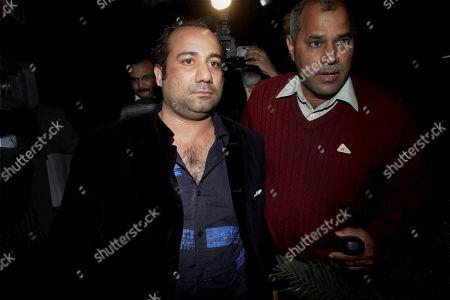 Editorial photo of India Pakistani Singer, New Delhi, India
