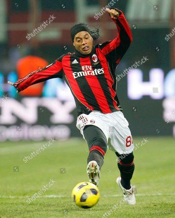 Editorial image of Italy Soccer Ronaldinho's Future, Milan, Italy
