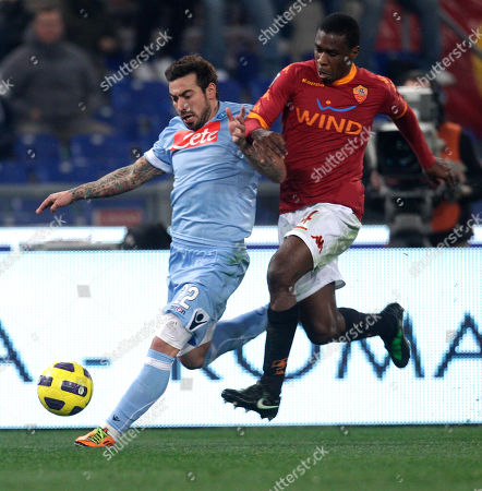 Editorial picture of Italy Soccer Serie A, Rome, Italy