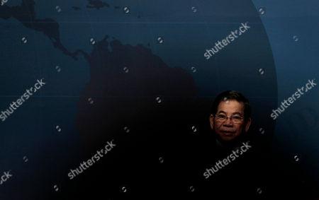 Vietnamese President Nguyen Minh Triet speaks during the APEC CEO Summit in Yokohama, near Tokyo