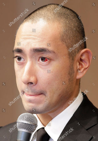 Ebizo Ichikawa Japanese traditional Kabuki actor Ebizo Ichikawa reacts during a press conference in Tokyo, Japan, . The Kabuki star, 33, paid a high price for a recent incident in which he sustained serious injuries to the face in a bar brawl after drinking heavily, Kyodo News reported