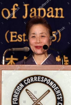 Nobuko Kan Nobuko Kan, wife of Japanese Prime Minister Naoto Kan, smiles during a press conference at the Foreign Correspondents' Club of Japan in Tokyo