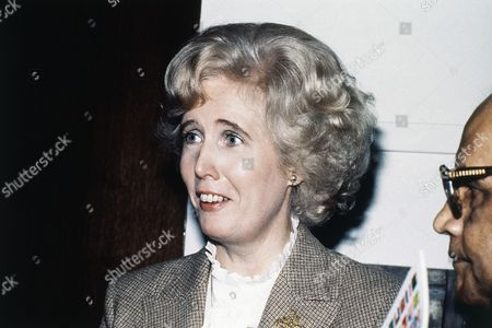 Lady Marcia Falkender, former political secretary to past British Prime Minister Sir Harold Wilson, unseen, pictured in March 1980