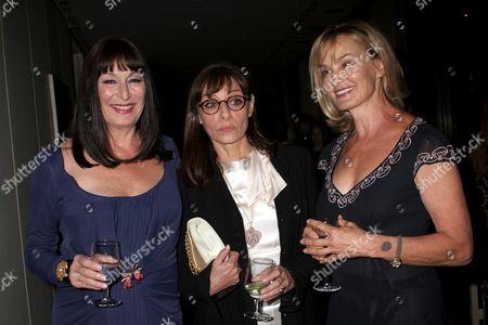 Anjelica Huston, Joan Juliet Buck, Jessica Lange