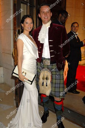 Lucy Liu and Duke of Argyll