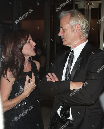 Molly Shannon and Bill Murray