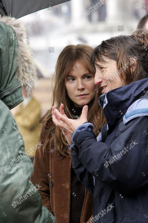 Sienna Miller and Beeban Kidron, the director