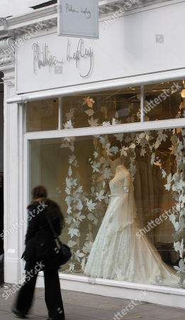 In this photo of wedding designer Phillipa Lepley couture shop is seen in London. Lepley is one of the bookmakers current favorites to make the Royal wedding dress for Kate Middleton. Sometimes a dress is just a dress. But not in Kate Middleton's case. Her wedding dress is far more than just a simple gown: It is the garment that will mark her transformation from commoner to princess, from Kate to Catherine, and define how she is seen by billions of people as they watch her exchange vows with Prince William on April 29.This wedding dress must be elegant, memorable, perfectly fitted, modern but traditional, alluring but not too sexy, classy but not too opulent, evocative of Princess Diana but not a direct copy of her style. A tall order indeed for a bunch of expensive material cut to fit a young woman's slender frame