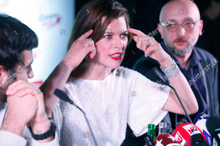 Editorial picture of Russia Jovovich, Moscow, Russia
