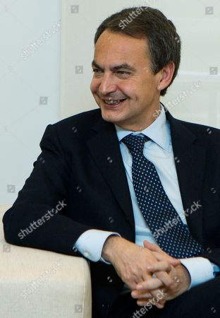 Jose Luis Rodriguez Zapatero Jose Luis Rodriguez Zapatero smiles during a meeting with former Federal Reserve Chairman Paul Volcker and Harvard University historian Niall Ferguson, unseen, at the Moncloa Palace in Madrid