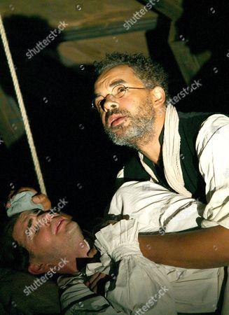 Ed Hughes (John Clarkson) and Peter de Jersey (David George)