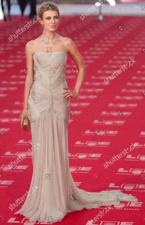 Natasha Yarovenko Ucranian actress Natasha Yarovenko poses on arrival at the annual Goya film awards in Madrid