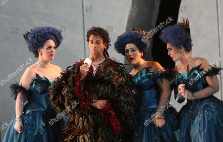 Editorial photo of 'Magic Flute' performed by English National Opera at the London Coliseum, Britain - 02 Oct 2007