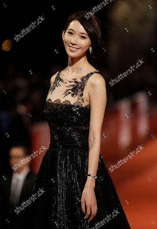 Lin Chiling Taiwanese actress Lin Chiling poses on the red carpet at the 47th Golden Horse Awards, in Taoyuan County, northern Taiwan. Lin is a guest at this year's Golden Horse Awards, one of the Chinese-language film industry's biggest annual events