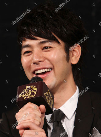 Satoshi Tsumabuki Japanese actor Satoshi Tsumabuki speaks during a media event of the Golden Horse Film Fesitival as he arrives, in Taipei, Taiwan. Tsumabuki was a special guest at this year's Golden Horse Film Fesitival before Golden Horse Awards, one of the Chinese-language film industry's biggest annual events on Nov. 20