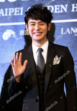 Satoshi Tsumabuki Japanese actor Satoshi Tsumabuki waves during a media event of the Golden Horse Film Fesitival as he arrives, in Taipei, Taiwan. Tsumabuki was a special guest at this year's Golden Horse Film Fesitival before Golden Horse Awards, one of the Chinese-language film industry's biggest annual events on Nov. 20