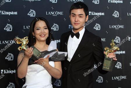 Editorial photo of Taiwan olden Horse awards, Taoyuan County, Taiwan
