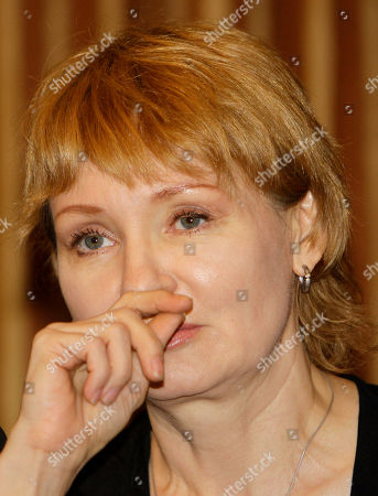 Alla Bout Alla Bout, wife of suspected Russian arms smuggler Viktor Bout, reacts during a press conference at Foreign Correspondents Club of Thailand in Bangkok, Thailand, . Alla Bout said she will sue the Thai government in an effort to get her husband released from U.S. custody after the Southeast Asian nation extradited him last week