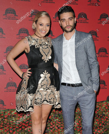 Stock Photo of Kelsey Hardwick and Tom Parker