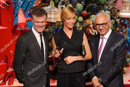 Pierre Denis, Uma Thurman and Paolo De Cesare