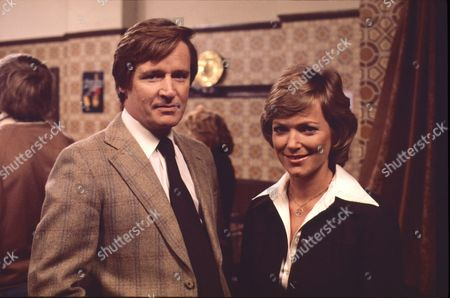 William Roache (as Ken Barlow) and Suzan  Farmer (as Sally Robson)