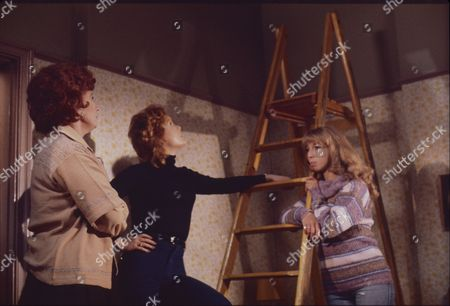 Pat Phoenix (as Elsie Howard) Cheryl Murray (as Suzie Birchall) and Helen Worth (as Gail Potter)