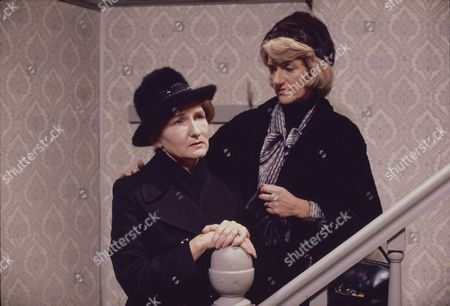 Stock Picture of Eileen Derbyshire (as Emily Bishop) and Cynthia Michaelis (as Norah Seddon)