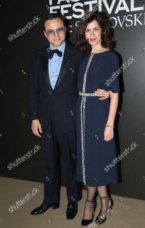 Stock Image of Bertrand Burgalat and Vanessa Seward
