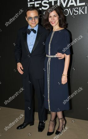Stock Picture of Bertrand Burgalat and Vanessa Seward