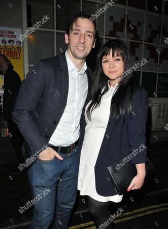 Ralf Little and Zoe Rocha