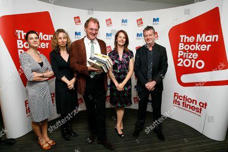 Editorial picture of Britain Booker Prize Shortlist, London, Gbr Xen