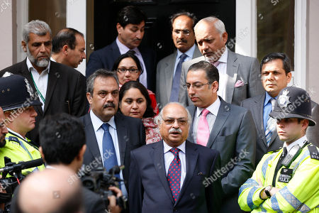 Wajid Shamsul Hasan Pakistan's High Commissioner Wajid Shamsul Hasan, center, talks to the media outside the Pakistan High Commission in London, where he interviewed Oakistani international cricker players Mohammad Asif, Mohammad Amir and captain Salman Butt, in connection with allegations of a plot to bowl no-balls to order during the fourth Test Match defeat to England at Lord's