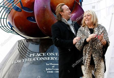 Editorial photo of Britain Lennon Peace Monument, Liverpool, Gbr Xen
