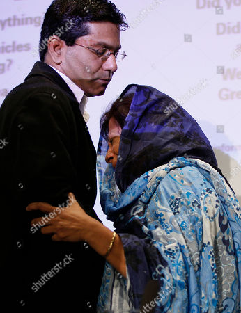 Shumaila Imran Shumaila Imran is comforted after she appeals for information relating to the murder of her husband Imran Farooq, at a police press conference at New Scotland Yard in London, . Imran Farooq was murdered outside his home in London on Sept. 16 where he was was living in exile after fleeing his homeland 11 years ago following death threats. His murder sparked violence in Karachi, where vehicles and shops were set alight despite a call for 10 days of peaceful mourning