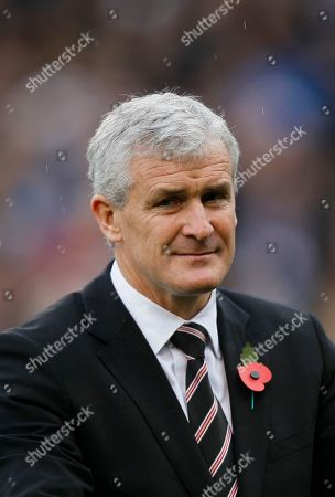 Mark Hughes Fulham's manager Mark Hughes is seen ahead of their English Premier League soccer match against Aston Villa at Fulham's Craven Cottage Stadium in London, . (AP Photo/Kirsty Wigglesworth) ** NO INTERNET/MOBILE USAGE WITHOUT FOOTBALL ASSOCIATION PREMIER LEAGUE(FAPL)LICENCE. CALL +44
