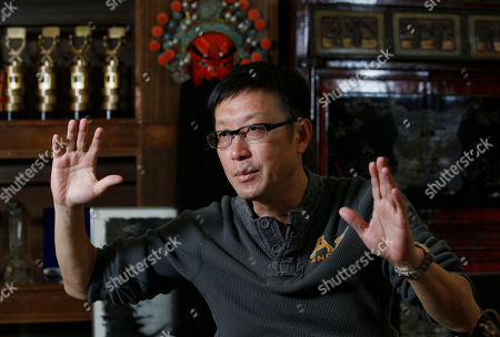 Editorial picture of Film Hong Kong Andrew Lau, Hong Kong, Hkg Chn