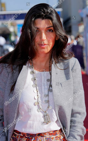 """Zeina Durra British director Zeina Durra arrives for the screening of the film """" The Imperialist Are Still Alive """" at the 36th American Film Festival, in Deauville, Normandy, France"""