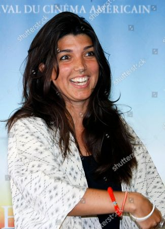 """Zeina Durra British director Zeina Durra poses for photographers for the film """" The Imperialist Are Still Alive """" at the 36th American Film Festival, in Deauville, Normandy, France"""