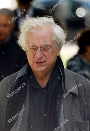 Bertrand Tavernier French Director Bertrand Tavernier arrives for a public homage to late French director Claude Chabrol at the Cinematheque Francaise in Paris . Chabrol, one of the founders of the New Wave movement whose films probed the latent malice beneath the placid surface of bourgeois life died on Sunday September 12, 2010 at the age of 80