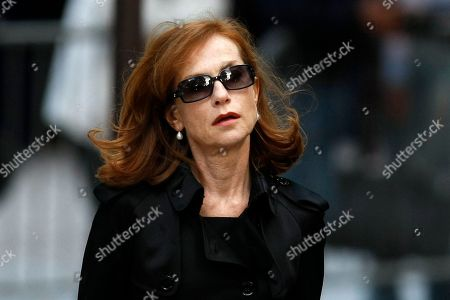 Isabelle Huppert Actress Isabelle Huppert attends a public homage to late French director Claude Chabrol at the Cinematheque Francaise in Paris . Chabrol, one of the founders of the New Wave movement whose films probed the latent malice beneath the placid surface of bourgeois life died Sunday Sept. 12, 2010 at the age of 80