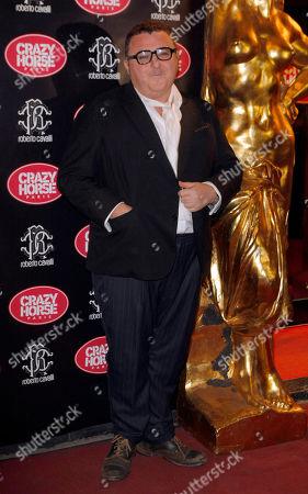 Albert Elbaz Israeli-American designer Albert Elbaz poses at the Crazy Horse cabaret, the famous Georges V avenue cabaret in Paris